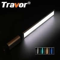 Travor LED Video Licht fotografie licht LA-L2 dünnste 7mm CRI 95 3200 K 5500 K mit drei farbe filter grün Blau Orange