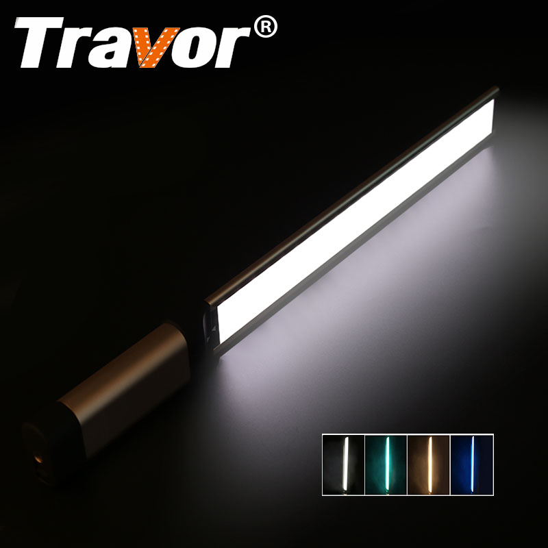Travor LED Video Light фатаграфіі святло LA-L2 тонкі 7мм CRI 95 3200K 5500K з тры святлафільтра Зялёны Сіні Аранжавы