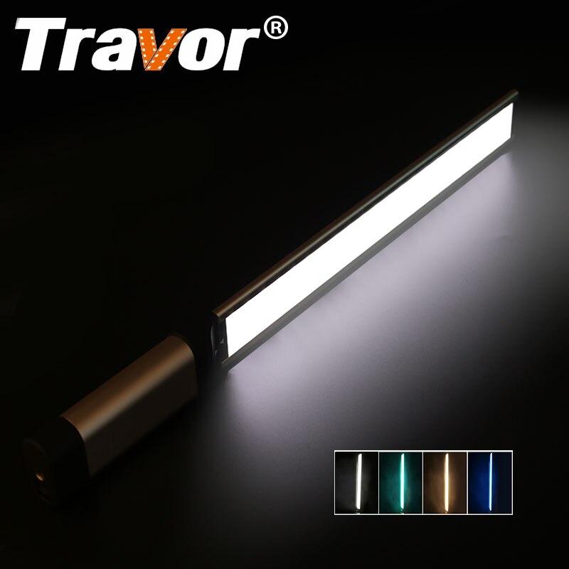 Travor LED lumière vidéo photographie lumière LA-L2 plus mince 7mm CRI 95 3200 K 5500 K avec trois couleurs filtre vert bleu Orange