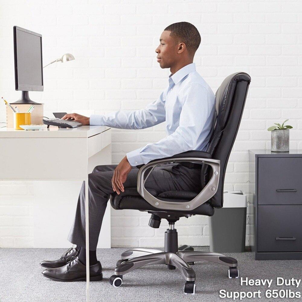 Rodas superiores resistentes do rodízio da substituição da roda do rodízio da cadeira do escritório 5 ajustados para proteger pisos de madeira-5