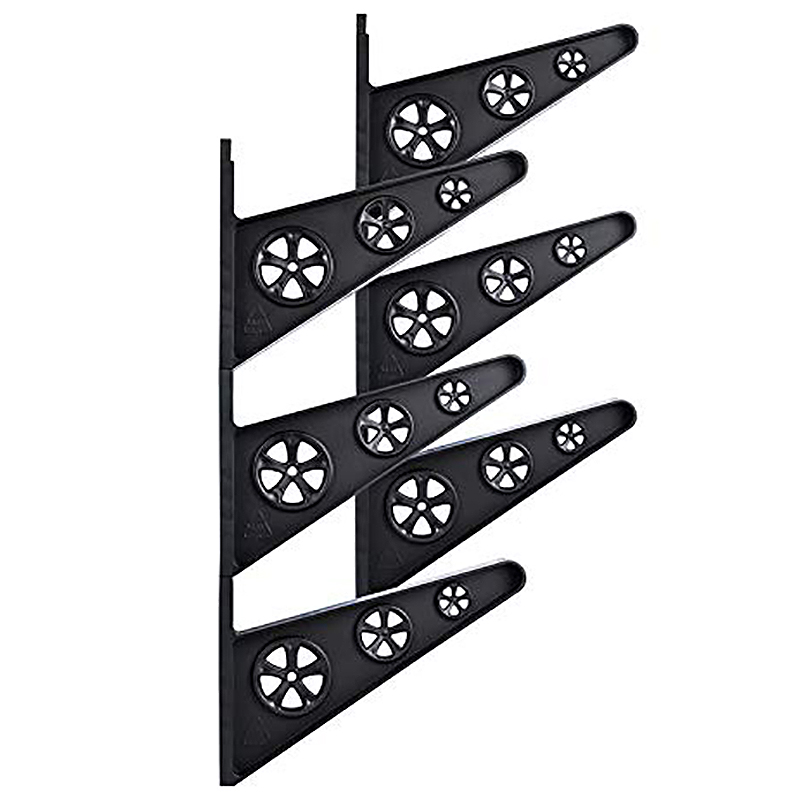 6Pcs Longboard Wall Mount Skateboard Wall Hanger Wall Rack
