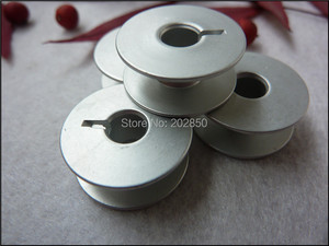 Image 3 - Industrial Embroidery Sewing Machine Aluminum Bobbins,Grooved,#55623A,W/ Height 8.8mm&OD20.8mm, 100Pcs/Lot,For Juki,Brother...