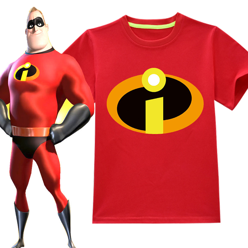 2019 New Baby Boys Superman T <font><b>Shirt</b></font> Kids child Cartoon Short Sleeve Children T-<font><b>Shirt</b></font> for girls The Incredibles <font><b>2</b></font> Clothes image