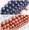 "Natural Glidstone/Blue sand stone Round loose beads 15"",BeadsFor DIY Jewelry Making !We provide mixed wholesale for all items!"