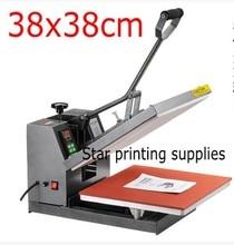 38x38cm Manual Heat Press Machine Heat Transfer Rhinestone Sublimation Press Machine DIY