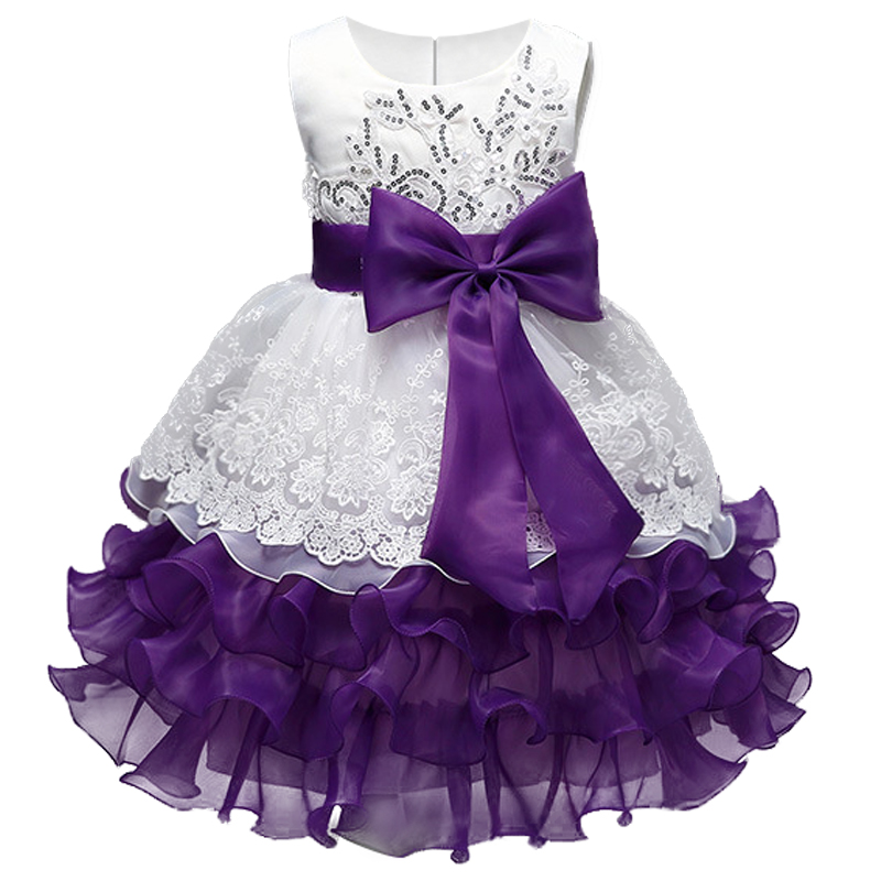 Highend atmosphere Girl Dress Sleeveless sequins Dresses Girls Clothes Party Princess 3-8 year birthday Dress Christmas baptism baby girl baptism dress sleeveless flowers wedding vestido infants girls clothes princess dresses 3 10 year birthday party dress