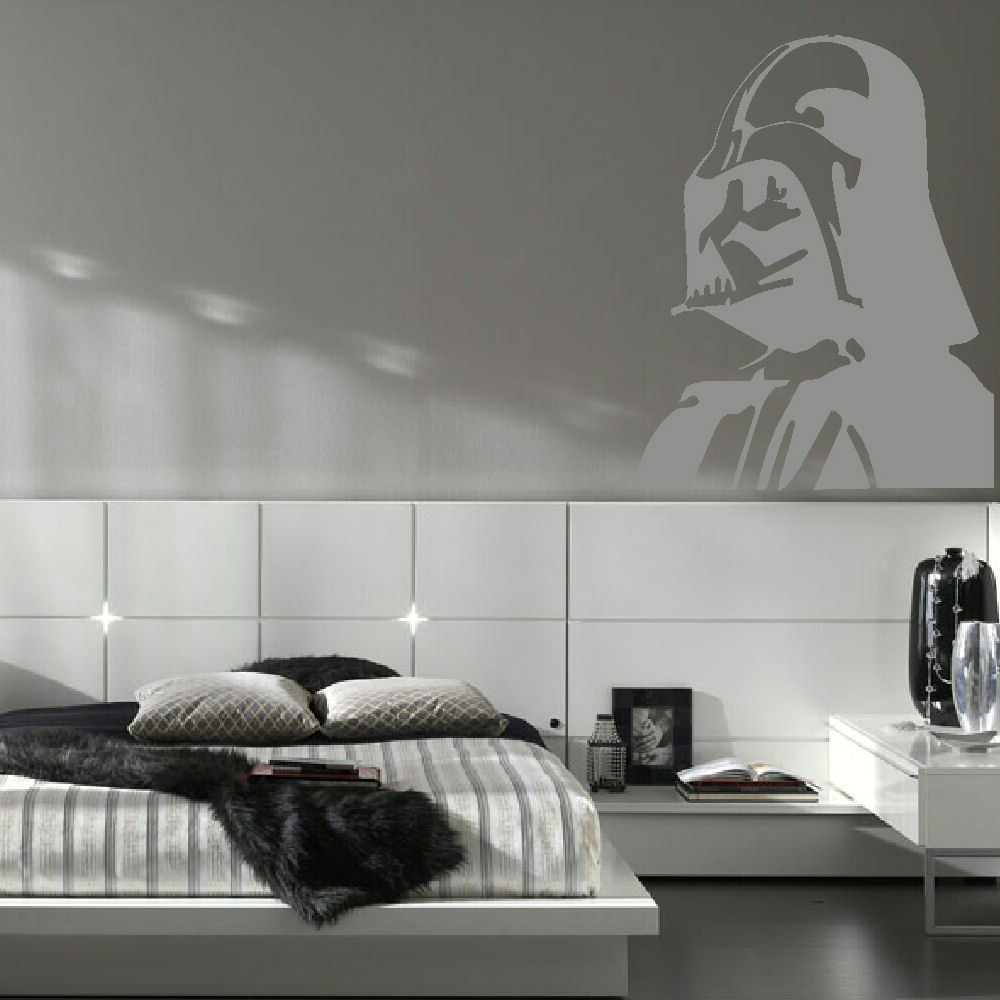 large darth vader star wars kitchen bedroom wall mural stencil large darth vader star wars kitchen bedroom wall mural stencil transfer decal diy wall stickers home decor in wall stickers from home garden on