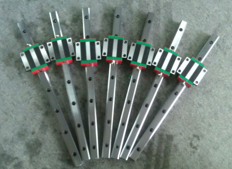 100% genuine HIWIN linear guide HGR25-450MM block for Taiwan