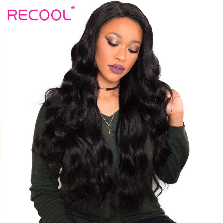 Recool Malaysian Body Wave Hair Bundles 100 Remy Human
