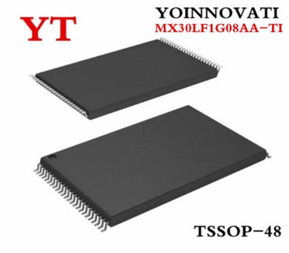 5 unidades/lotes MX30LF1G08AA-TI MX30LF1G08AA IC FLASH 1 30NS 48 GBIT TSOP de melhor qualidade.