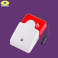 Golden Security Wireless Strobe Siren Sound Alarm Strobe Flashing Red Light Sound Siren for G90B Plus S1WG S3 Alarm System