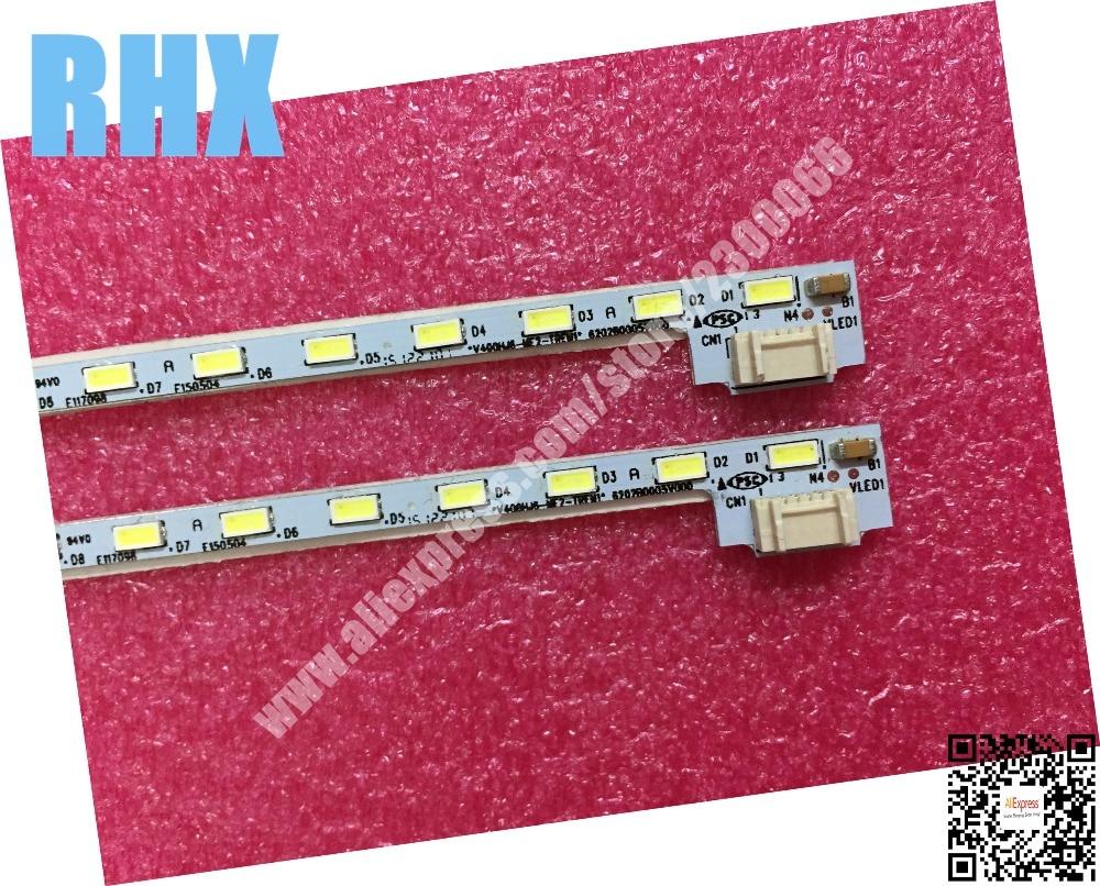 FOR  NEW100%  Repair Sharp LCD-40V3A LCD TV LED Backlight Article Lamp V400HJ6-ME2-TREM1 V400HJ6-LE8 1PCS=52LED 490MM Is New