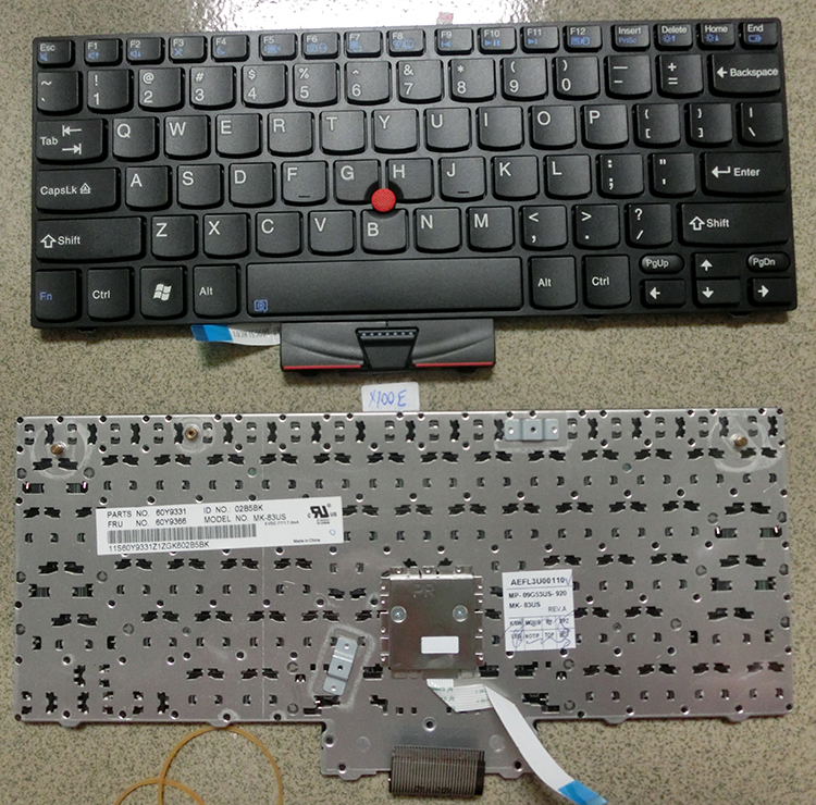 SSEA Free Shipping New Laptop Keyboard for lenovo thinkpad X120 X120E X100 X100E E10 E11 US Original Keyboard