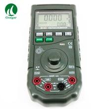 MS7207 calibrateur de processus de calibrateur de boucle numérique de haute précision Volt/mA