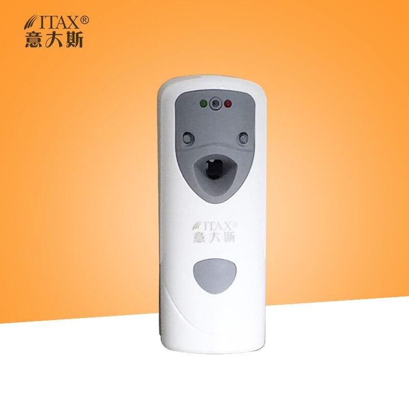 X-1108 <font><b>LED</b></font> digital wall mounted PP plastic time adjustable batteries automatic air freshener aerosol dispenser purifier perfume