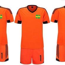 414725a4fcf Captain Tsubasa Japanese Football Nankatsu Team Goalkeeper Wakabayashi  Genzo Cosplay Orange Tee Shirt Soccer Jersey Suit. 2 Colors Available
