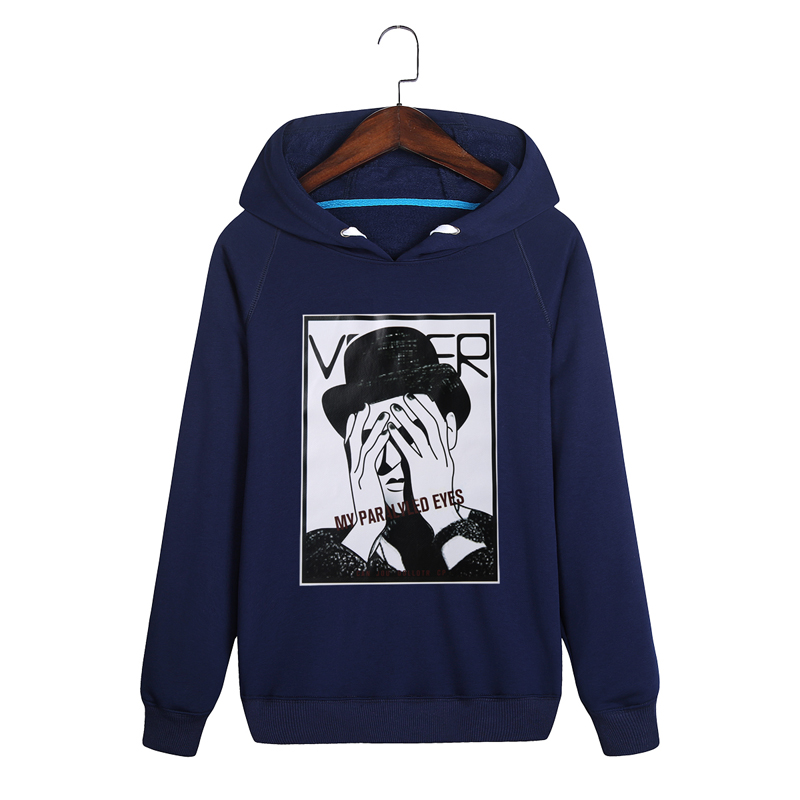 Plus Size M-4XL 2017 Hot Fashion Men Hooded Sweatshirts New Design Print Hoodies Unisex Comfortable Pullover Mens Sportswear
