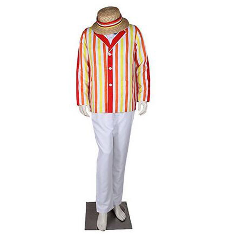 2017 high quality halloween costume for adult men mary poppins bert cosplay costume movie character dick van dyke costumes