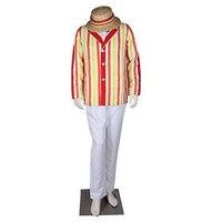 2017 di Alta Qualità costume di halloween per adulti uomini Mary Poppins Bert costume cosplay movie character Dick Van Dyke costumi