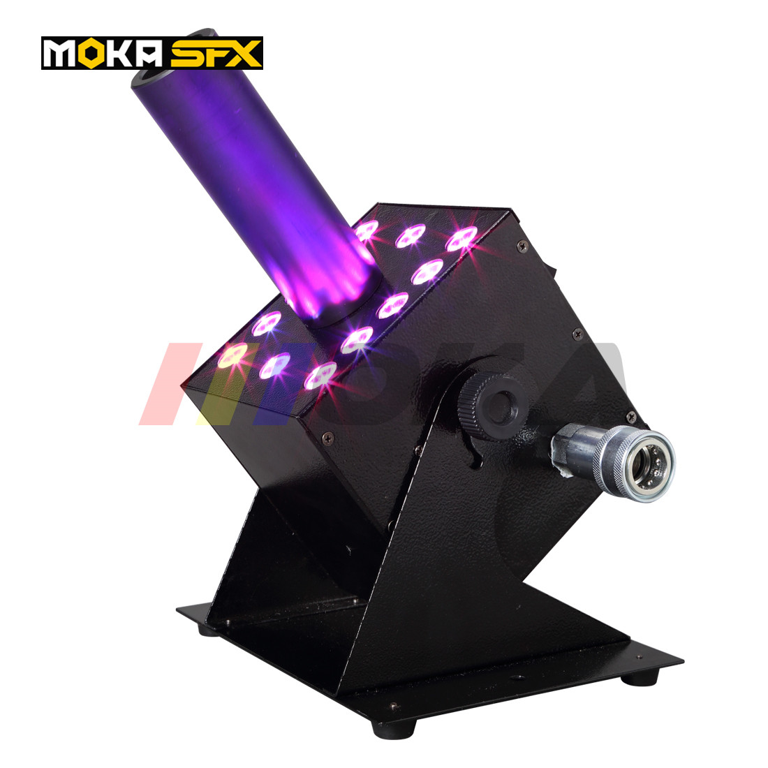 Led CO2 Jet Machine Co2 Cryo Jet Canon Stage Effect Co2 Fog Machine With Free 6M Co2 Gas Hose For Stage DJ Lighting