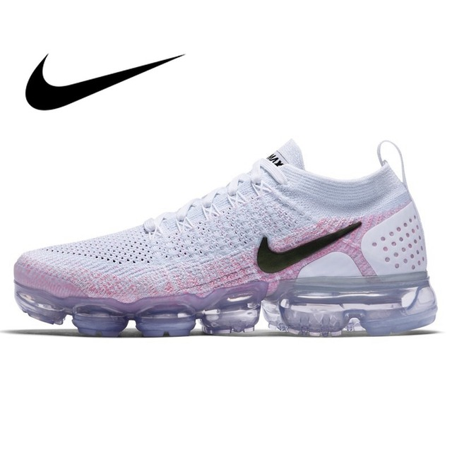 45fb98651f19 Official Original NIKE Air Max Vapormax Flyknit Women s Running Shoes  Sneakers low top Whole Palm Cushioning Breathable 942843