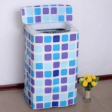 Verdicken Reißverschluss Waschmaschine Abdeckung A/B, Waschtrockner Abdeckung, wasserdichte Sonnencreme Staubschutz Waschmaschine Schutzhülle