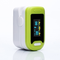 Yongrow OLED Pulse Oximeter Digital Pediatric Fingertip Oximeter Blood Oxygen Saturation Monitor Portable Pulse Oximeter G