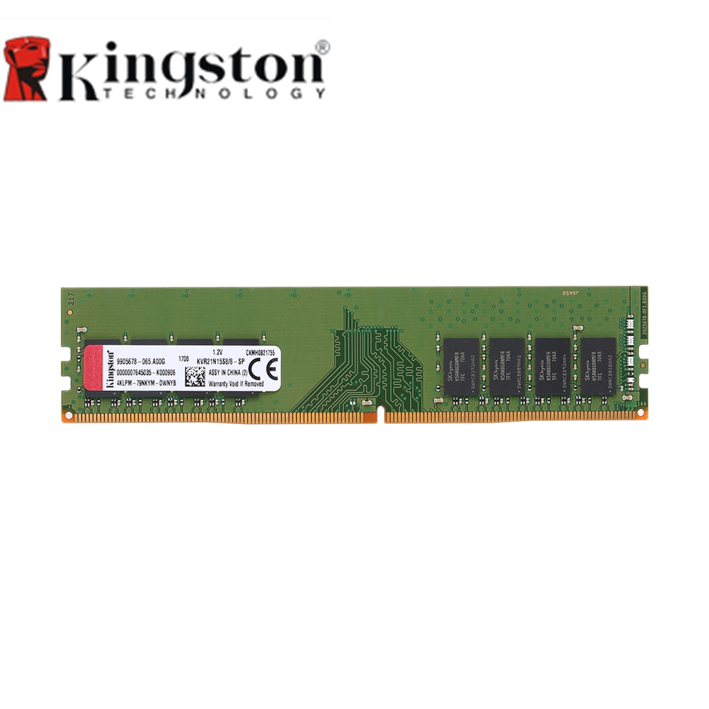 Kingston Memoria RAM DDR4 16GB 8GB 4GB 2133MHz CL15 1 2V 1Rx8 288 Pi Intel Memory