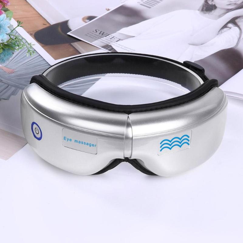 Eye Massage SPA Instrument Electric Air pressure Eyes Massager Wireless Vibration Magnetic Therapy Massage Folding