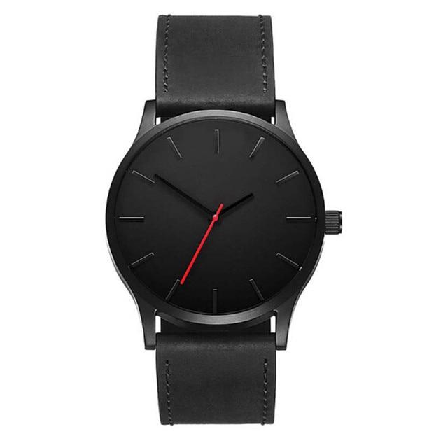 899402b0a39c4 2018 Big Dial Watches For Men Hour Mens Watches Top Brand Luxury Quartz  Watch Man Leather Sport Wrist Watch Clock relogio saat