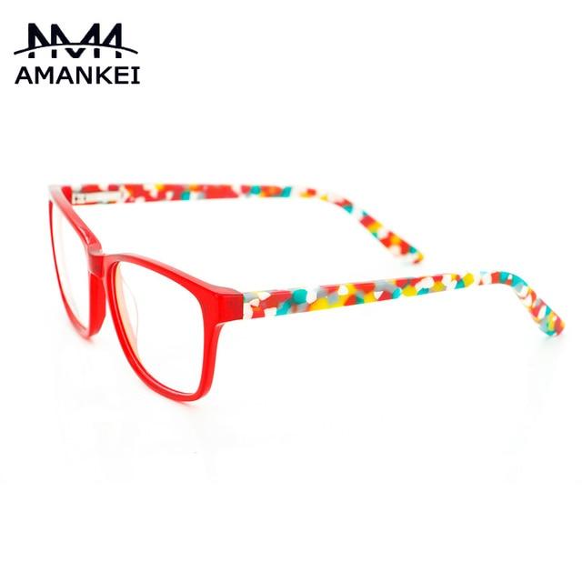 8799bd154d7 Fashion Retro Glasses Women Optical Eyewear Vintage Eyeglass Frames Camo  Clear Lens Eye Glasses Frames for