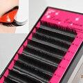 eyelashes all size 5 cases individual black lashes 8-15mm,false eyelash extension