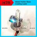 2X12 V xenón H7R escondió bombilla de la lámpara 4300 K 5000 K 6000 K 8000 K 35 W base de metal capa de Recubrimiento dimmer escondió H7R escondió faros de xenón H7R