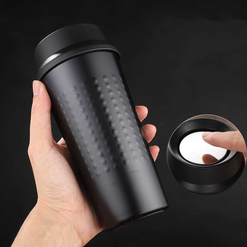 Stainless Steel Coffee Mug Thermos Tumbler Cups Vacuum Flask Travel Thermo Water Bottle Tea Mug Thermocup Car Water Bottles
