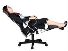 Em casa cadeira do computador de escritório cadeira ergonómica cadeira reclinável cadeira rede 9009A giratória cadeiras de lazer