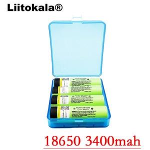 Image 3 - 2019 2PCS LiitoKala new original NCR18650B 34B 3.7V 18650 3400mAh rechargeable lithium battery  flashlight bat