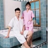 Special Price Women's Solid Color Animal Pajamas One Piece Short Sleeve V-Neck Cotton Pajama Sets Sleepwear Set Women'S Pajamas