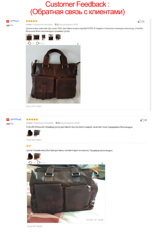 95710d5cbcda JOYIR Натуральная кожа Мужская сумка-мессенджер сумка кожаный портфель для  ноутбука для мужчин Кожаная офисная сумка на плечо для мужчин кожа.