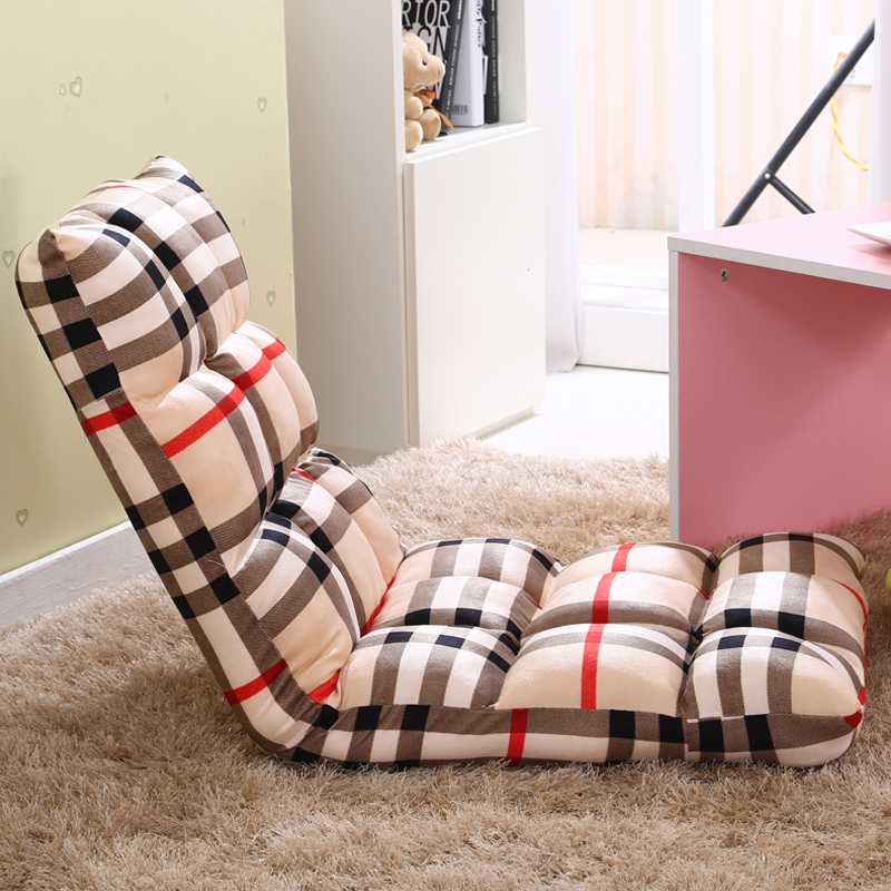 High quality adjustable lazy sofa single floor tatami foldable sofa bed recliner chair lazy chair. recliner