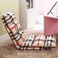 Alta calidad ajustable sofá perezoso solo piso tatami plegable sofá cama reclinable silla multifuncional silla perezosa