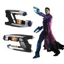 Yacn Gun Cosplay Star Herr EIN Paar Pistolen Avengers Unendlichkeit Krieg Gun Waffe Requisiten Handgemachte Party Peter Quill Hero Erwachsene halloween