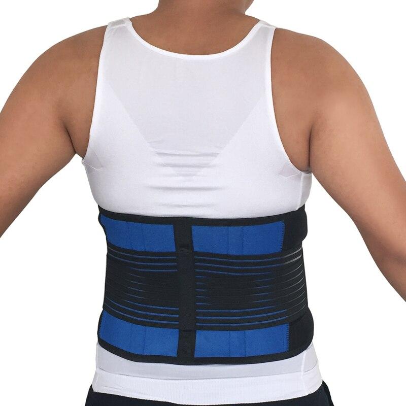 Women Men Posture Back Support Belt Elastic Back Belt Back Brace Support Lumbar Brace Waist Corset Large Size XXXL XXXXL