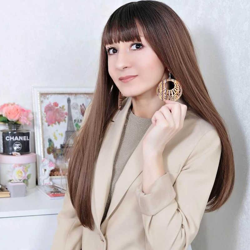Dream-Ini-Kemungkinan Fashion | 3D Korea Bohemian Drop Anting-Anting Perhiasan Besar Panjang Hoop Kartun Lucu Kayu Anting-Anting 2019 untuk Wanita