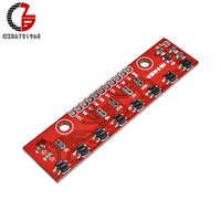 8 kanal IR Tracking Sensor Modul 8 CH Infrarot Linie Track Spur Erkennen Erkennung Bord DIY Detektor für Arduino Smart auto