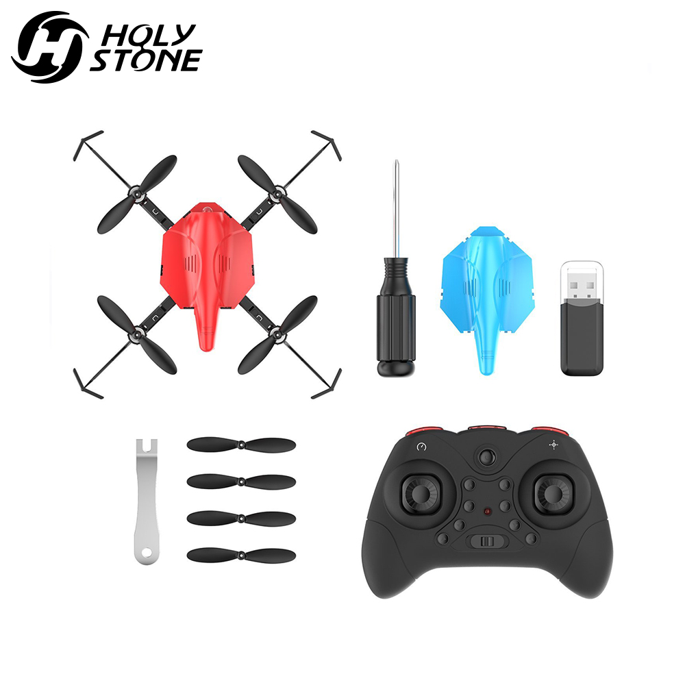 Holy Stone HS177 Red Mini Drone RC Drone Quadcopters Headless Mode - დისტანციური მართვის სათამაშოები - ფოტო 6
