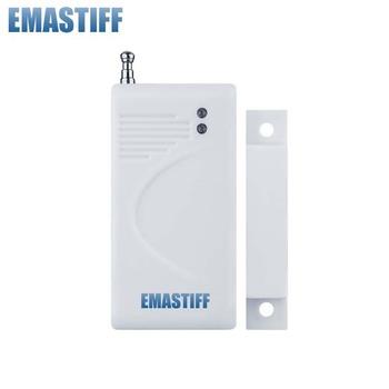 Promuj dobrą cenę bezprzewodowy czujnik drzwi 315mhz dzwonek do drzwi kontakt magnetyczny kontakt drzwi antywłamaniowe 315mhz tanie i dobre opinie eMastiff 315MHZ MC1