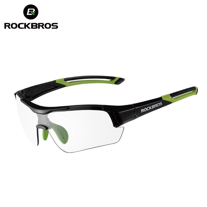 ROCKBROS MTB Bike Photochrome Gläser Radfahren Skifahren Fahren Outdoor-Sport Sonnenbrille Brille Fahrrad Brillen Myopie Rahmen