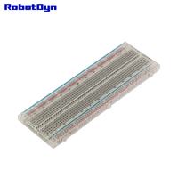 10 Pcs Solderless Breadboard Self Adhesiv 16 6x5 5x0 85cm Transparent Color