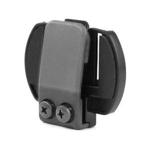 1 stück V6 Clip Halterung Clamp Arbeit für V6 V4 V2-500C 1200 Mt Motorrad Bluetooth Helm Sprechanlage Intercom Headset