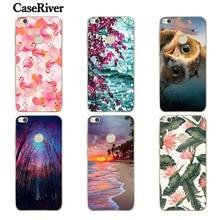 Caseriver Huawei Honor 8 Lite pra-tl10 чехол для телефона, высокое качество Мягкий силиконовый чехол Обложка для Huawei P8 Lite 2017 5.2 дюймов Чехол